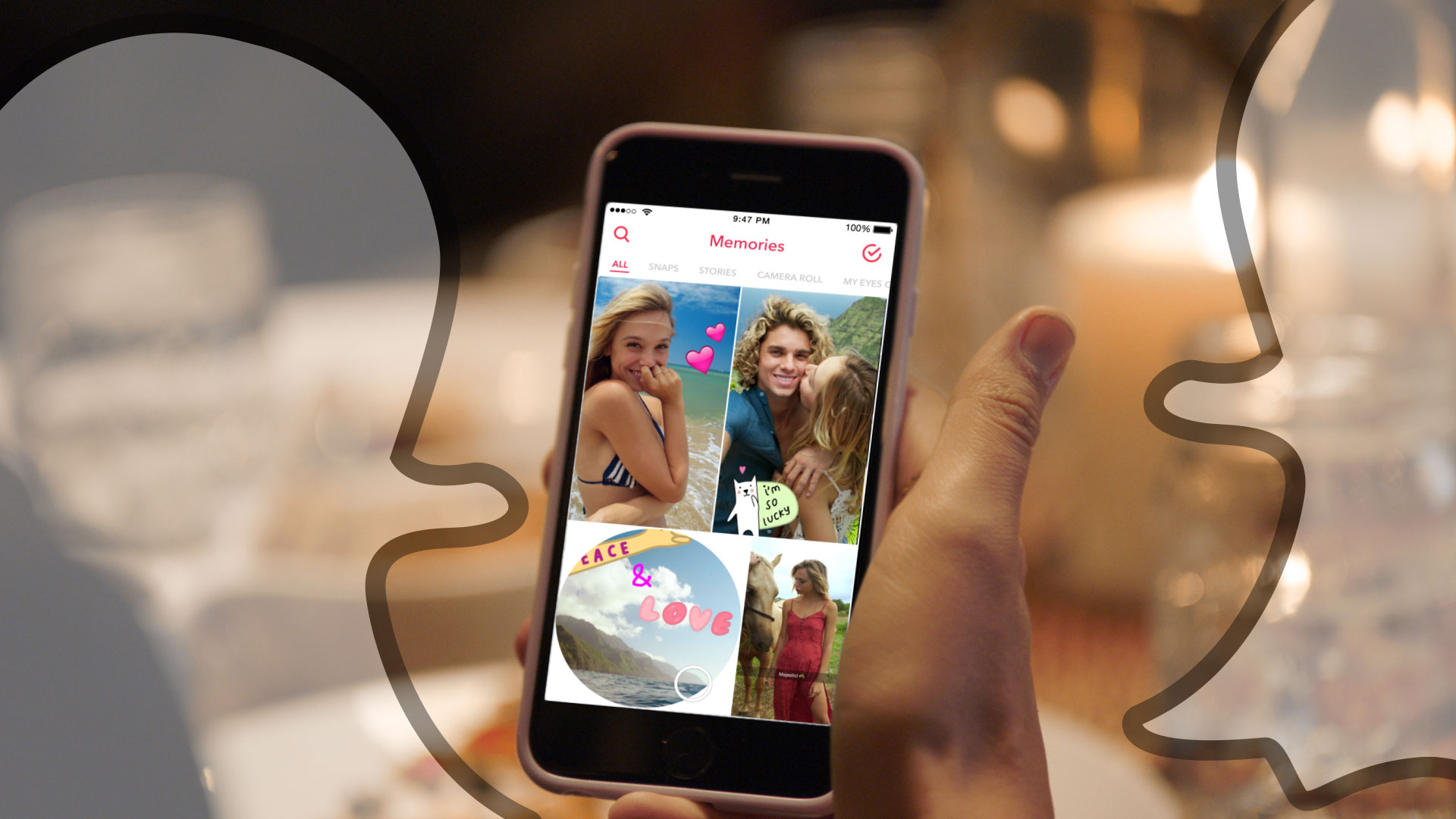 Snapchat Memories is a searchable replacement for your