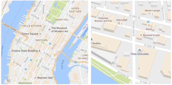 Google Maps gets a cleaner look and starts highlighting ... on google flights, google android, google birds, google jokes, google ar, google sa, google cardboard, google classic homepage, google chromebook, google doodle, google console,
