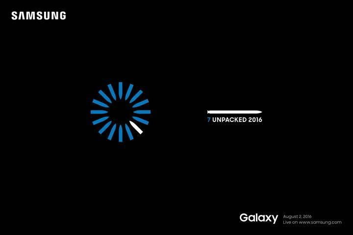 invites sent out for samsung s august 2 unpacked smartphone event