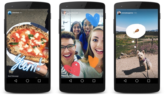 Instagram Stories wants you to share constantly