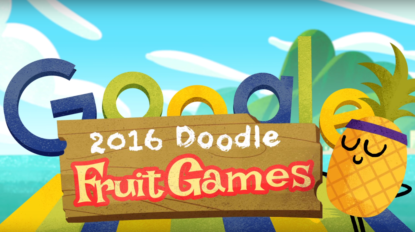 Google Celebrates Olympics With Doodle Fruit Games Techcrunch