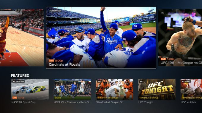 FOX Sports Go hits Apple TV, allows viewing of four games at