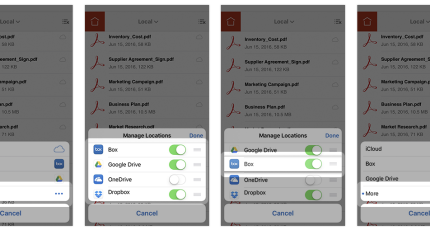 Adobe's Acrobat Reader app finally lets you use any cloud service