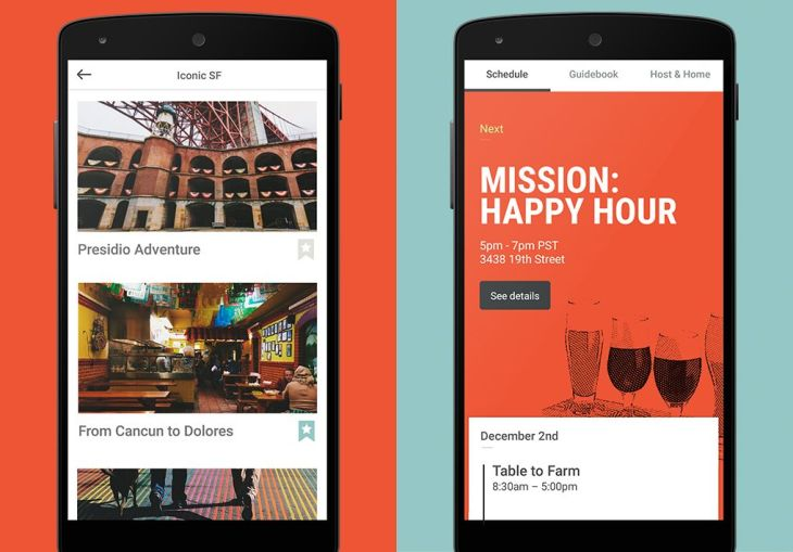 Airbnb Trips A Test Version Of Company S Travel Services App