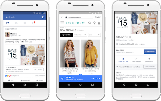 Facebook Offers gets revamped for mobile 695ece3e81dd
