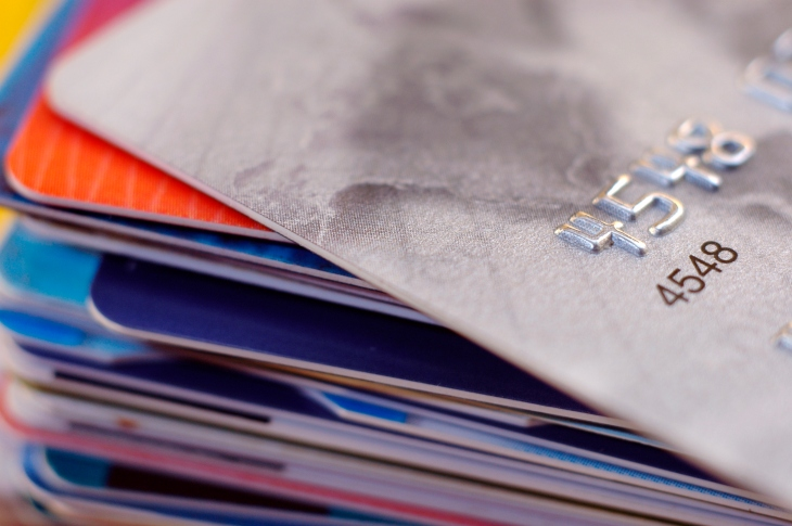 Visa makes strategic investment in card processing startup marqeta pile of credit cards reheart Gallery