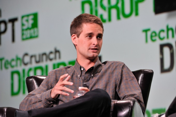 SAN FRANCISCO, CA - SEPTEMBER 09: Evan Spiegel of Snapchat attends TechCruch Disrupt SF 2013 at San Francisco Design Center on September 9, 2013 in San Francisco, California. (Photo by Steve Jennings/Getty Images for TechCrunch)