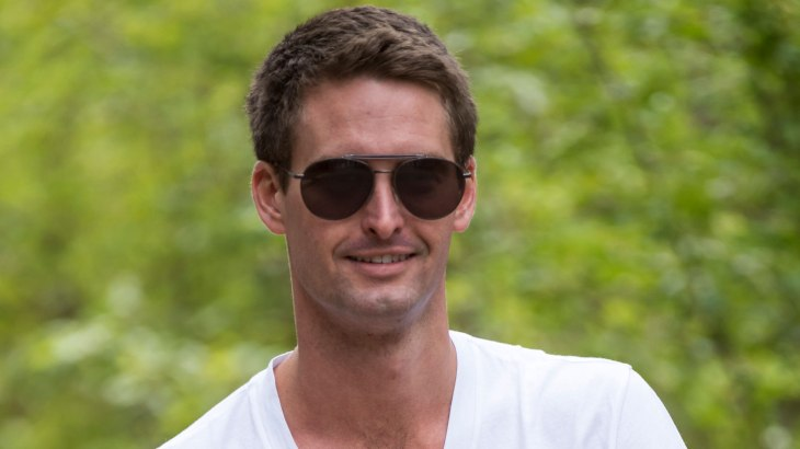 Snap CEO Evan Spiegel got a $637 million bonus last year