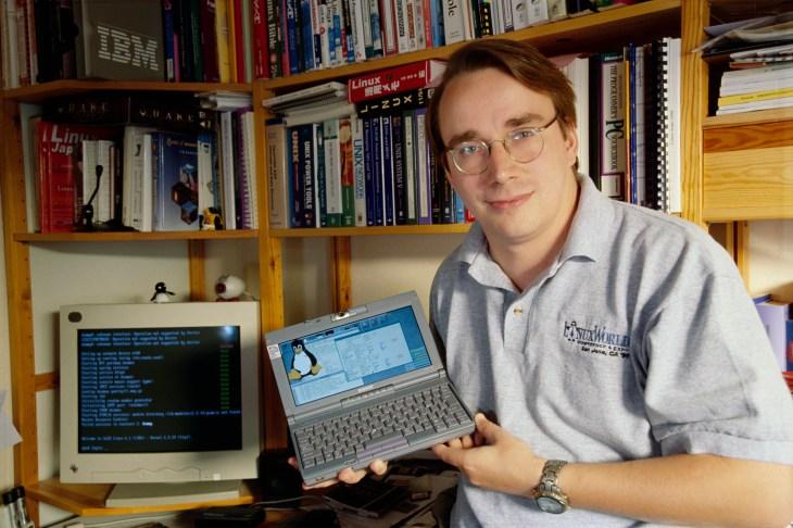 Image result for linus torvalds linux
