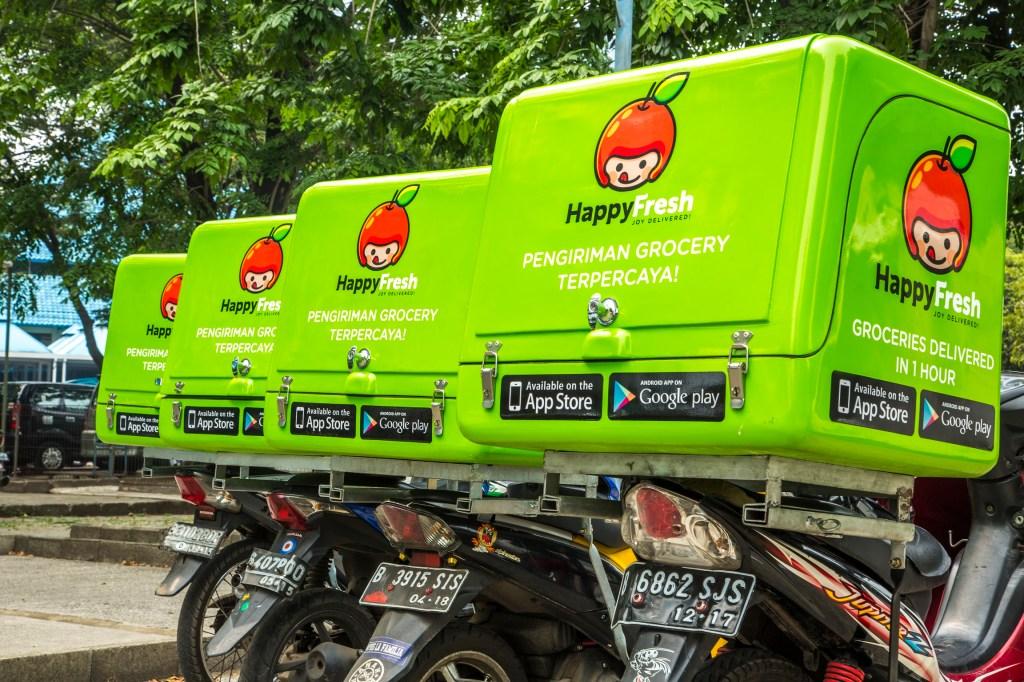Resurgent HappyFresh raises $20M for its online grocery service in