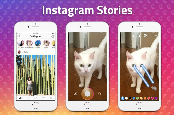 "Instagram launches ""Stories,"" a Snapchatty feature for"