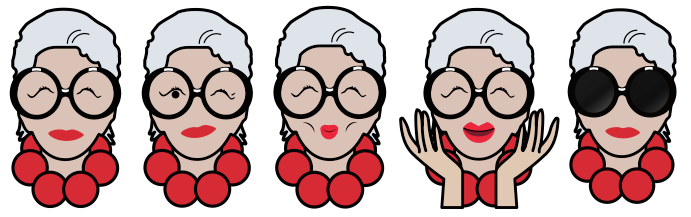 Happy Birthday Iris Apfel And Thanks For Making Our Messages Mod