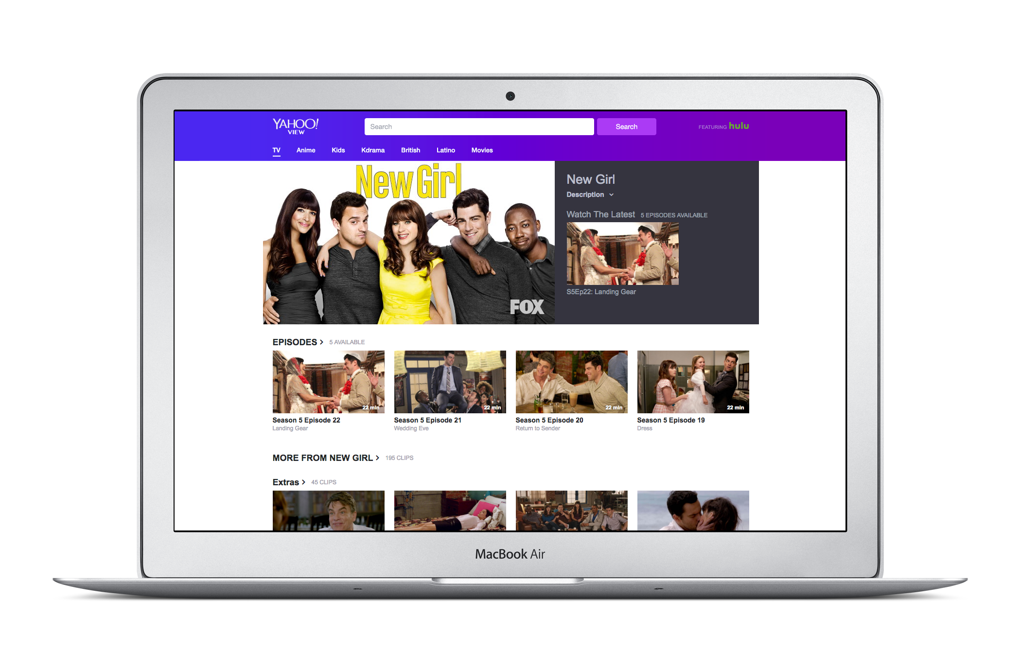 Yahoo launches a TV-watching site, Yahoo View, in partnership with