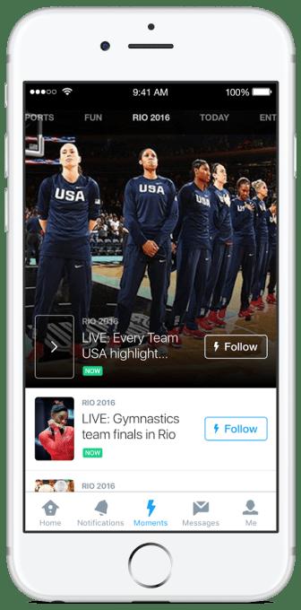 Moments Olympics