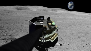Illustration of Moon Express MX-1 lunar lander / Image courtesy of Moon Express