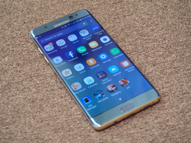 Here It Is The New Phone That Was So Exciting Company Went Ahead And Skipped A Full Number Upgrade Samsung Galaxy Note 6 Lost To Annals Of