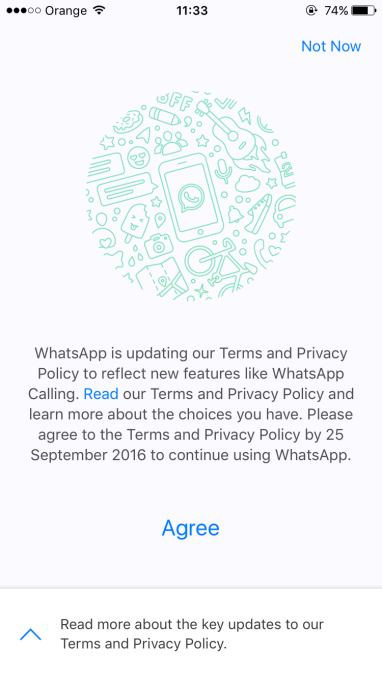 How To Opt Out Of Sharing Your Whatsapp Info With Facebook Techcrunch