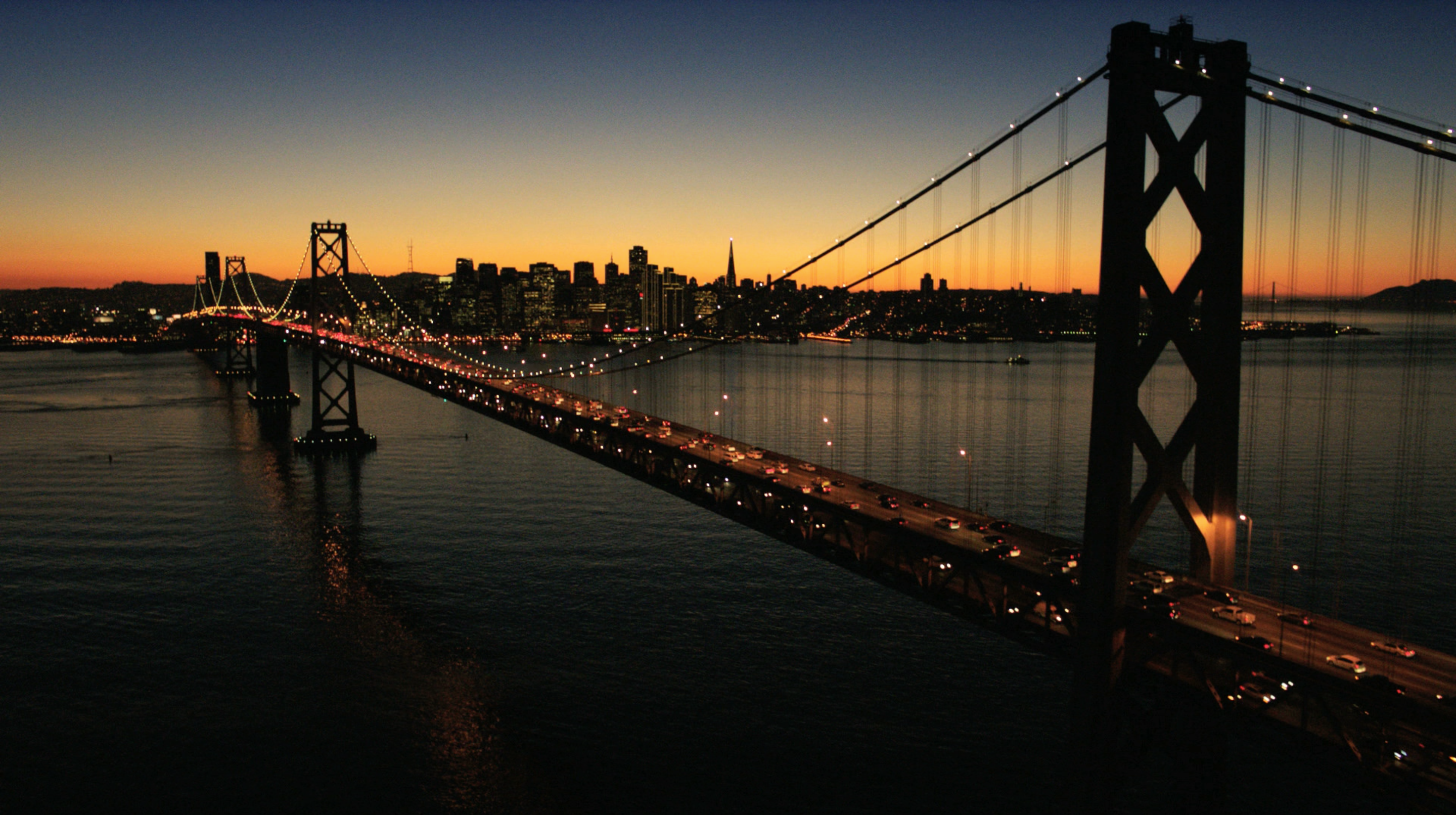 Google experiments in local news with an app called for Bay bridge run 2016