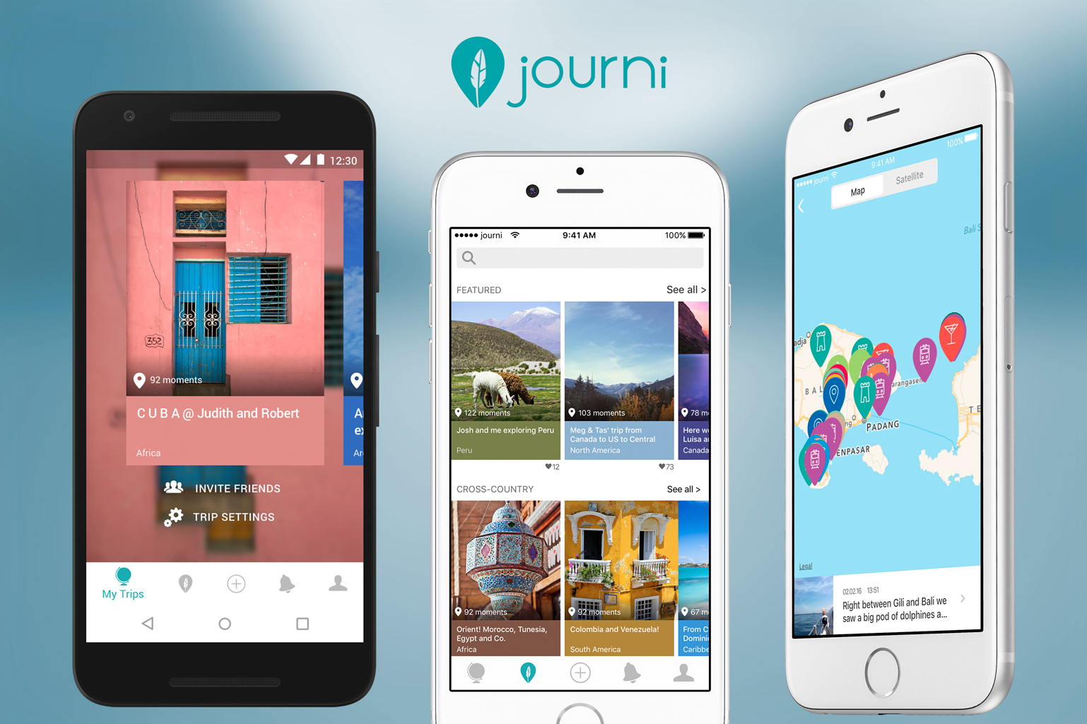 Journi scores seed funding for travel journal app | TechCrunch