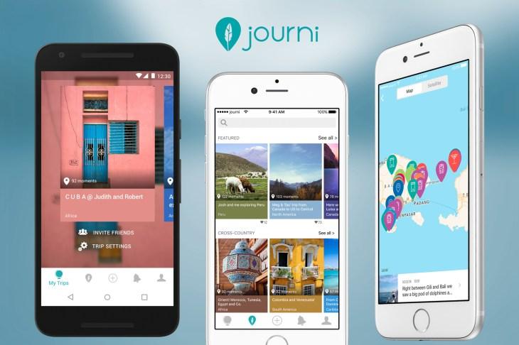 journi scores seed funding for travel journal app techcrunch