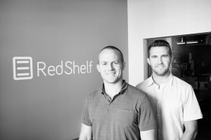 Tim Haitaian and Greg Fenton, co-founders of RedShelf
