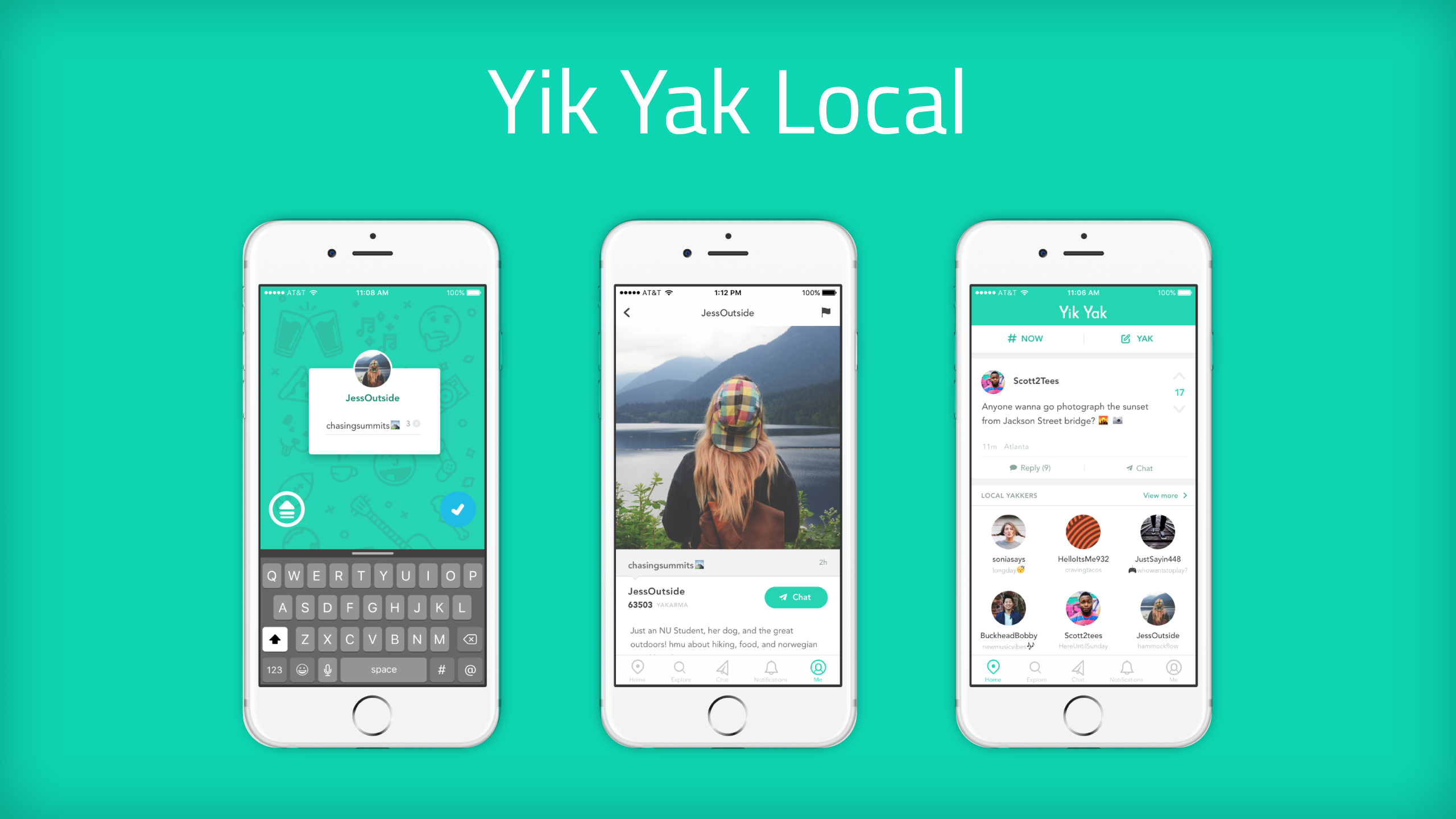 Yik Yak yearns to be local, not just anonymous | TechCrunch