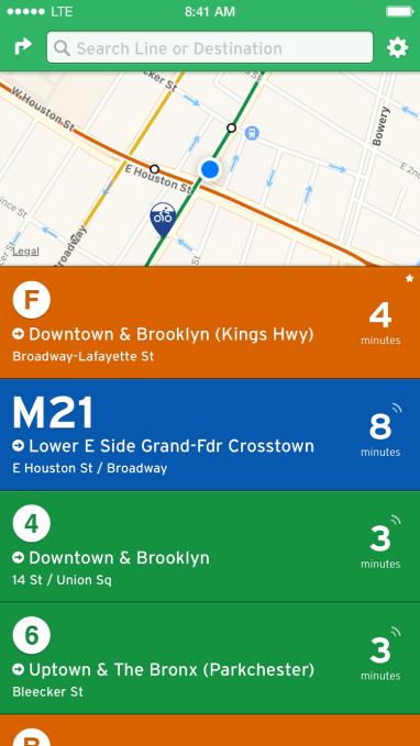 transit app nearby