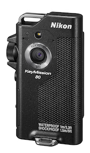 The KeyMission 80 looks like it lifted its design from a mid-1990s Olympus sound recorder.