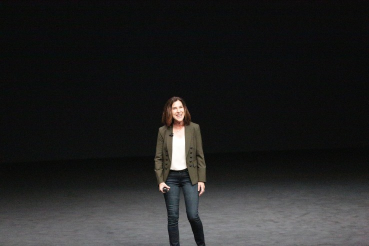 Apple's VP of Worldwide Marketing, Susan Prescott.
