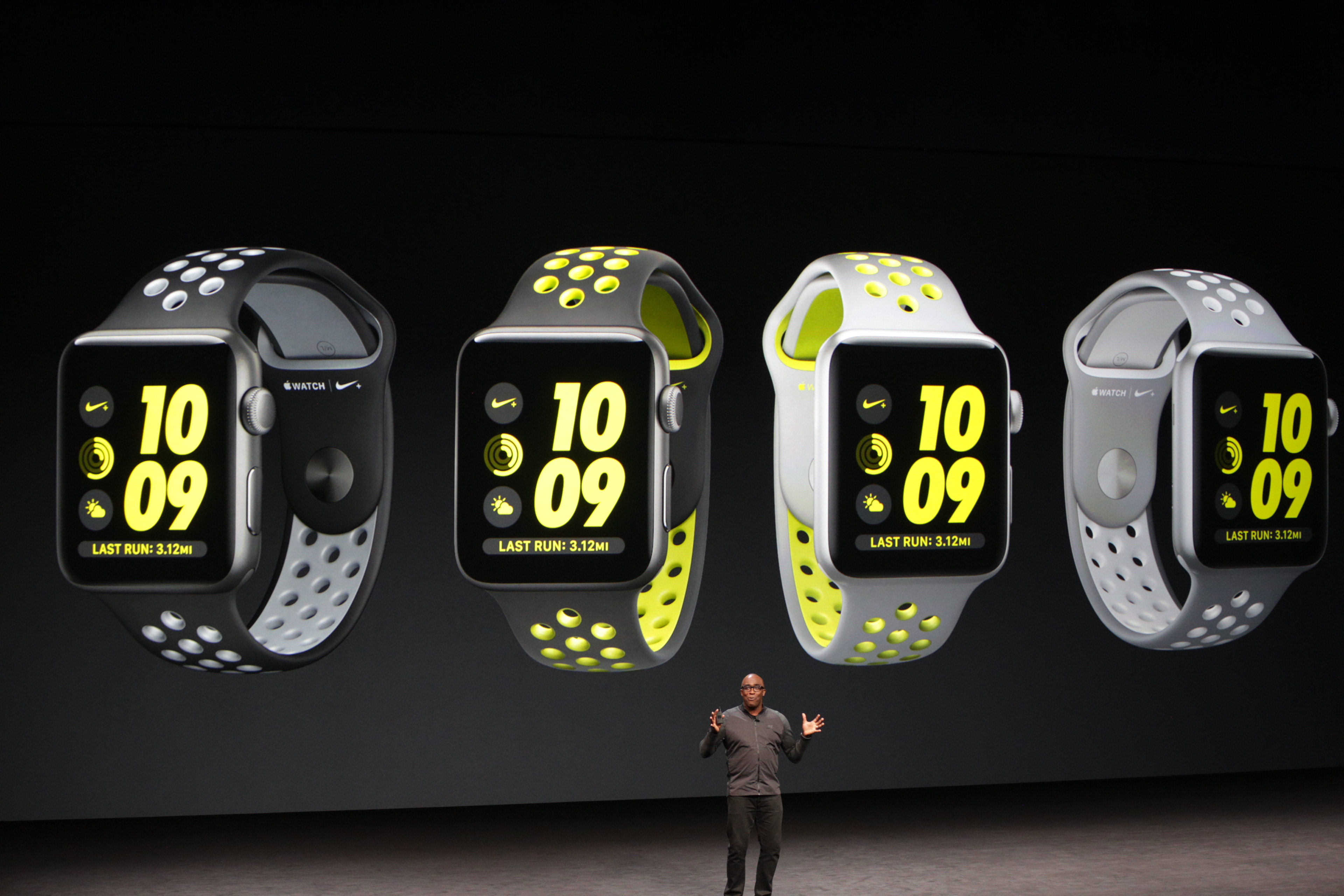 Apple and Nike teamed up to make a Nike+ special edition Watch Series 2
