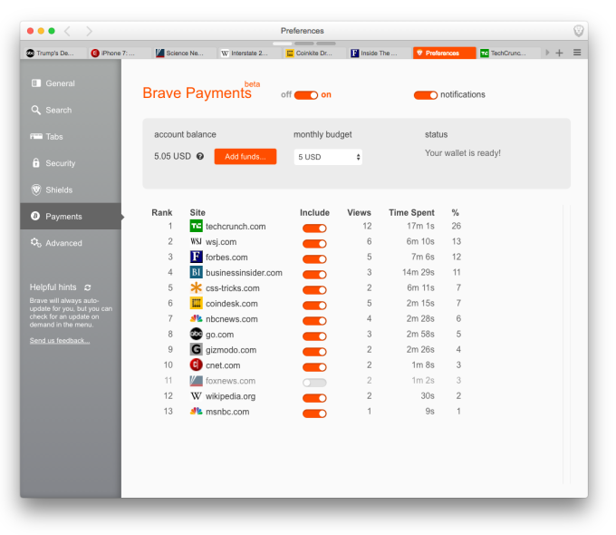 BravePayments