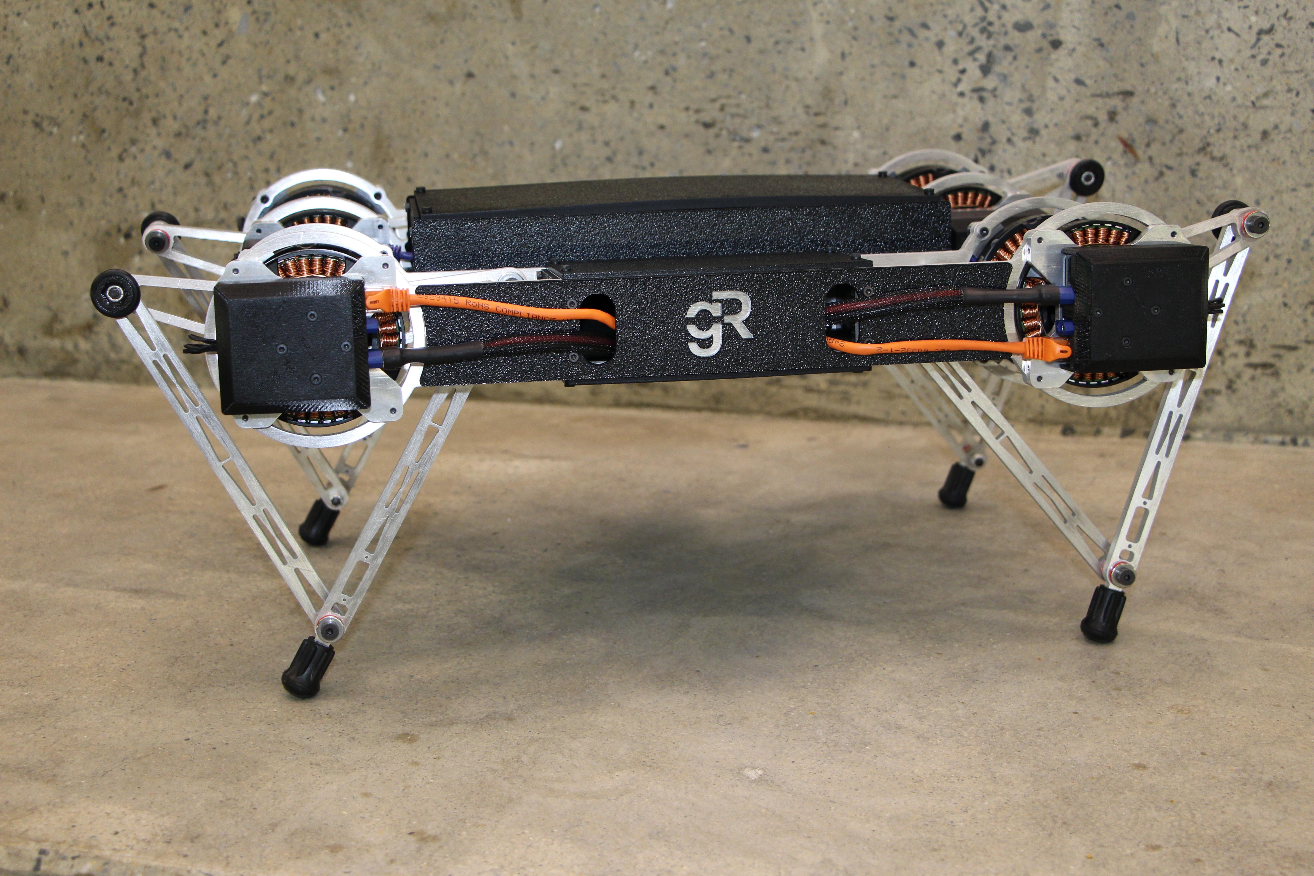 The vivacious, acrobatic Minitaur robot