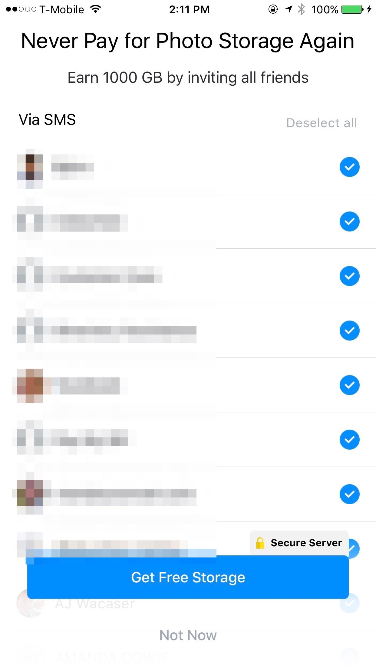 Everalbum is proof that SMS invite spam still works TechCrunch