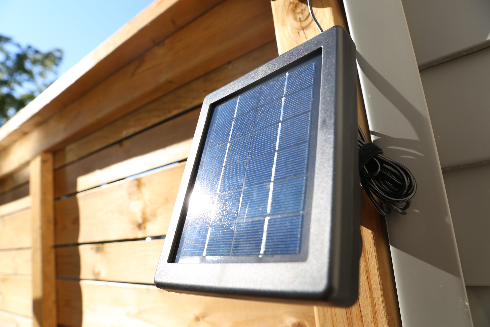Ring Stick Up Cam And Solar Panel Combo Provides Peace Of
