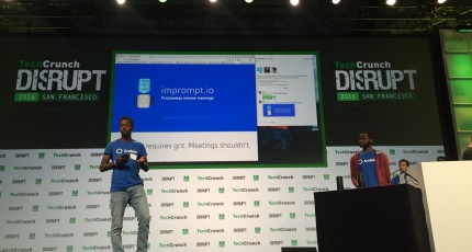 With a team hailing from around the world Imprompt io hacks on the
