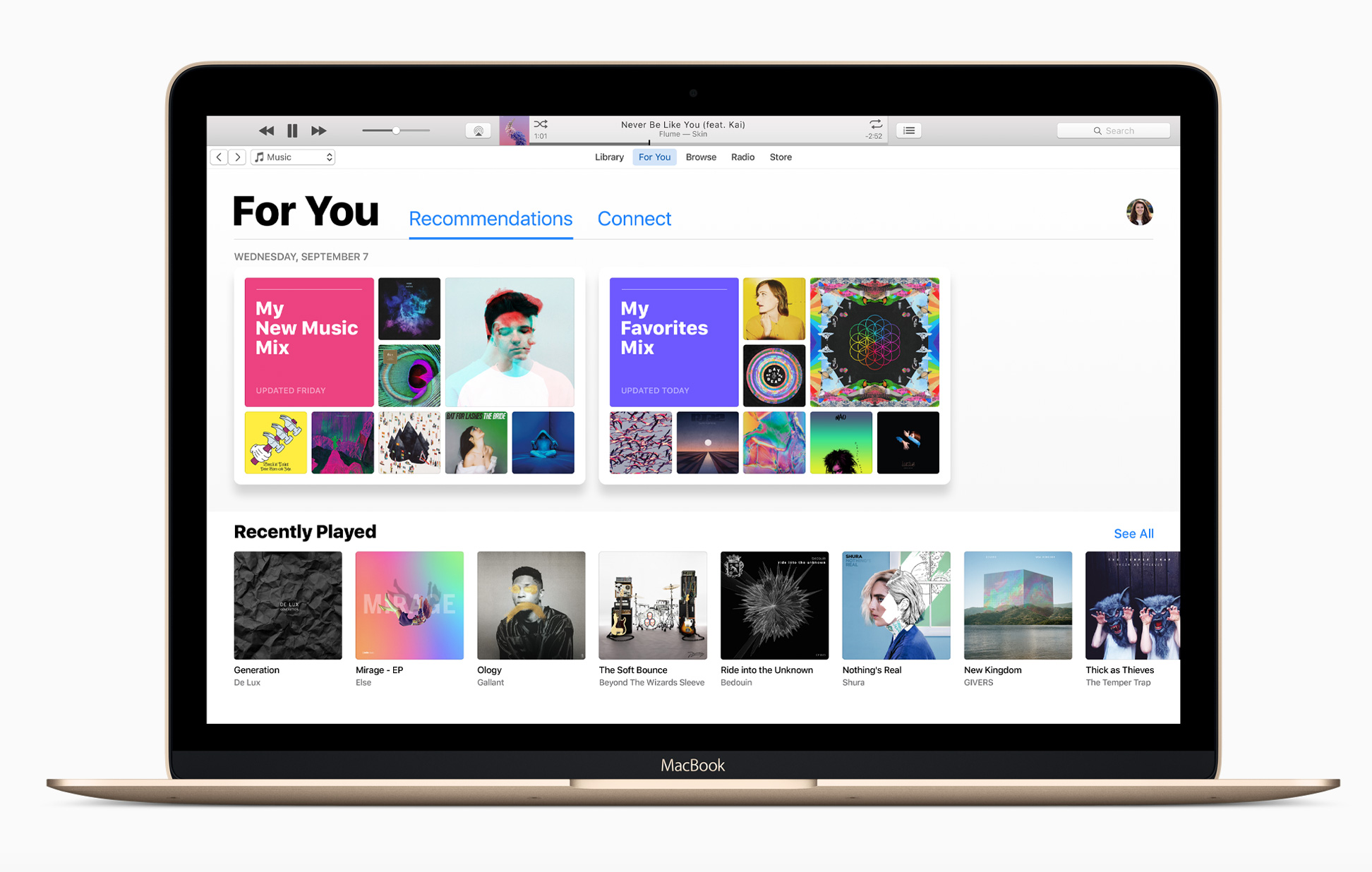 Redesigned version of iTunes launches with iCloud Music glitches
