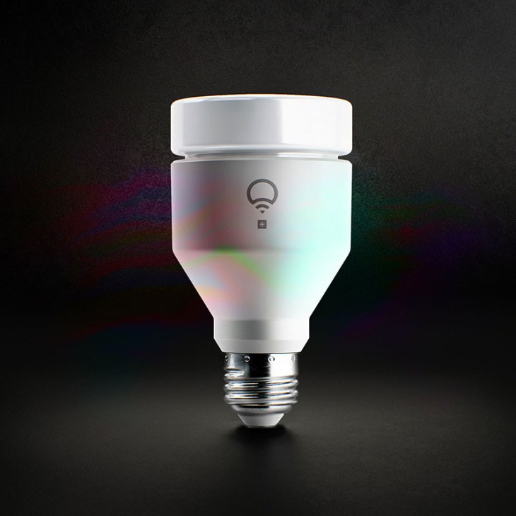 The new lifx smart bulb emits infrared light to help security lifxa19e26800 aloadofball Images