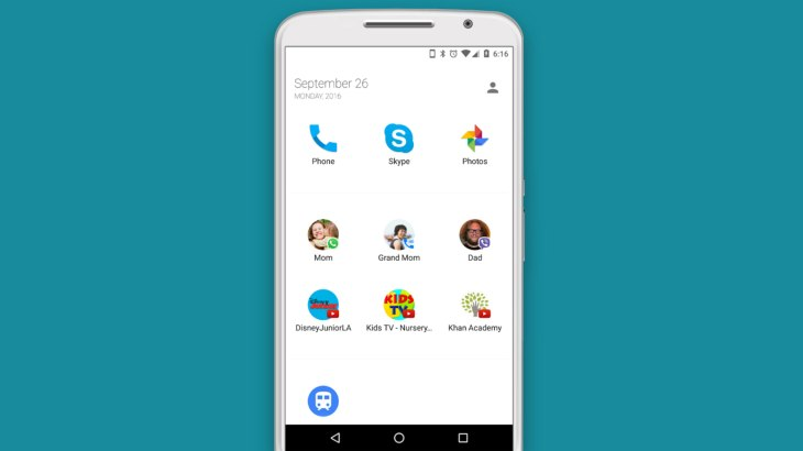 Luna Launcher turns your Android phone into a kid-friendly