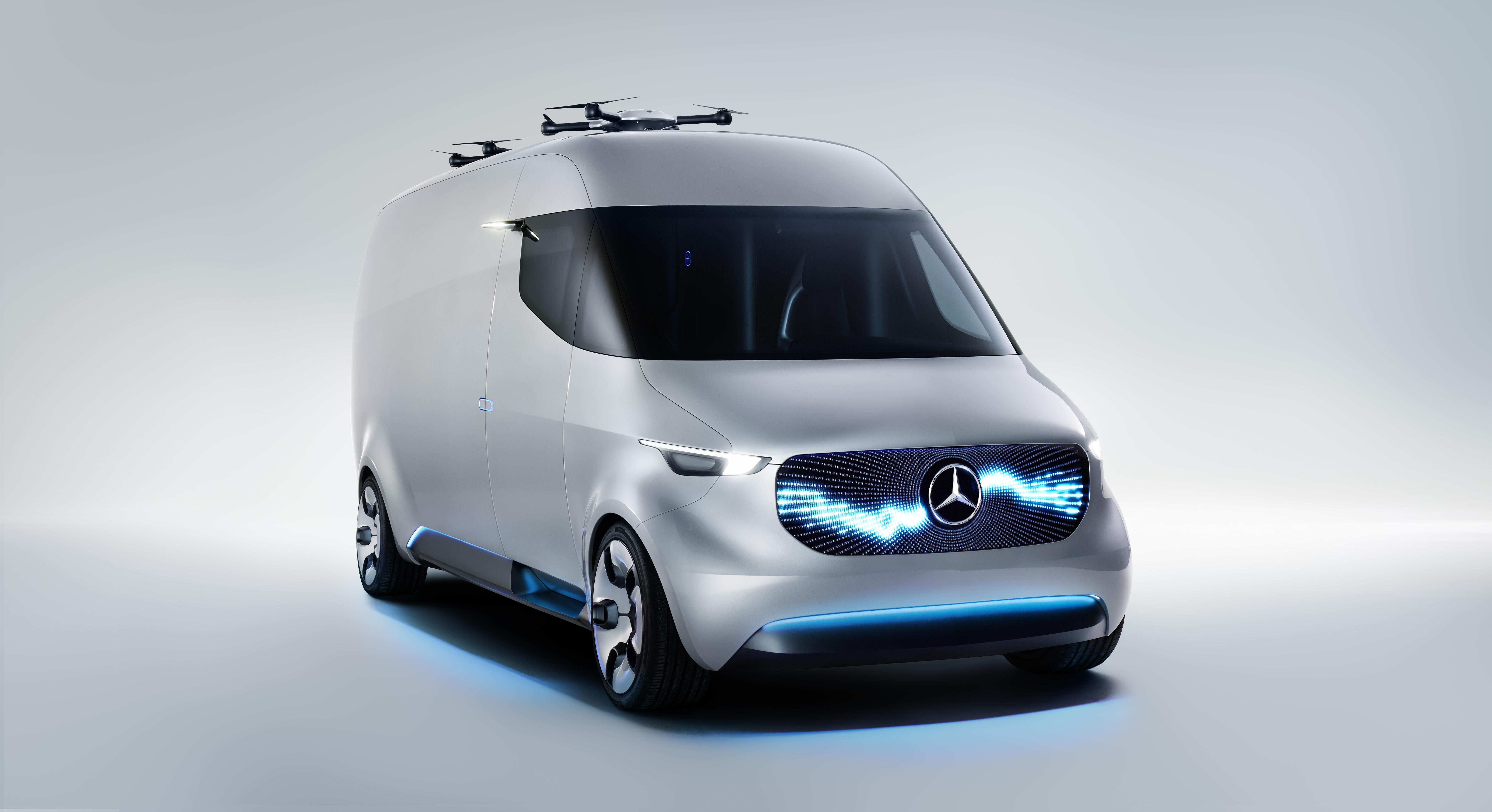 Mercedes benz and matternet unveil vans that launch for Mercedes benz techs