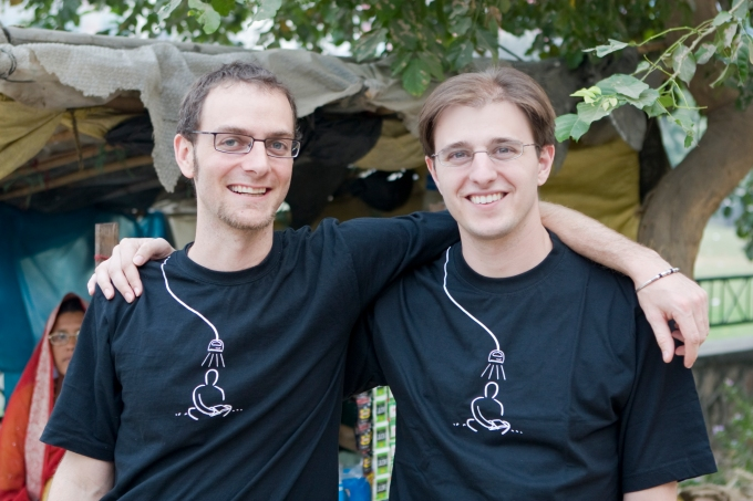 Ned Tozun and Matt Goldman, co-founders of d.light