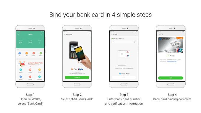 Mi Pay_bind card process