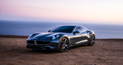 There Are Just About 1 000 Fisker Karma Luxury Cars On The Road Today Vehicle Was A Hit Amongst Design Obsessed Car Owners When It