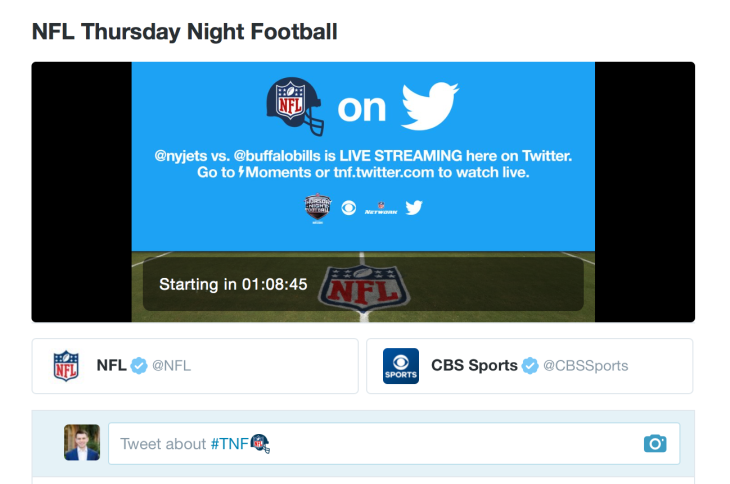 Here S How To Watch Thursday Night Football On Twitter Tonight