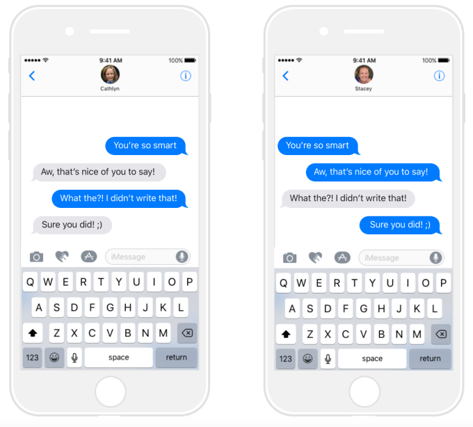 This crazy iMessage app lets you prank friends by putting words in