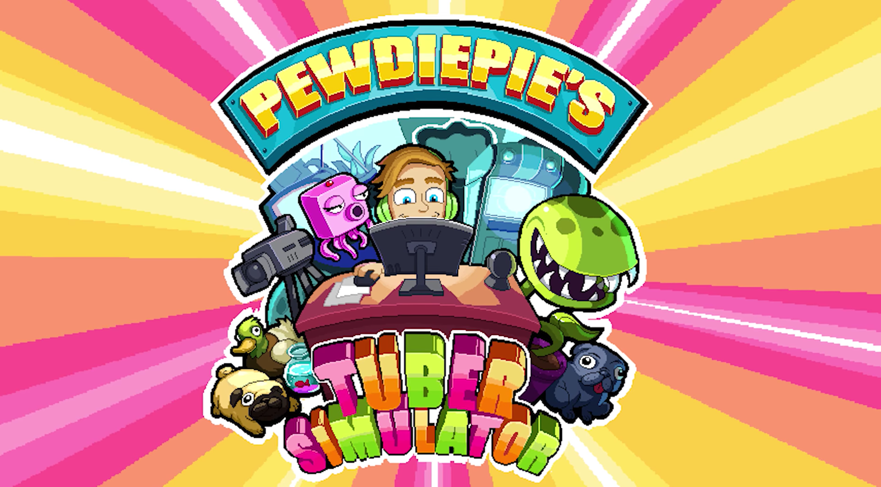 """PewDiePie's new game """"Tuber Simulator"""" hits the top of the App Store,  crashes 