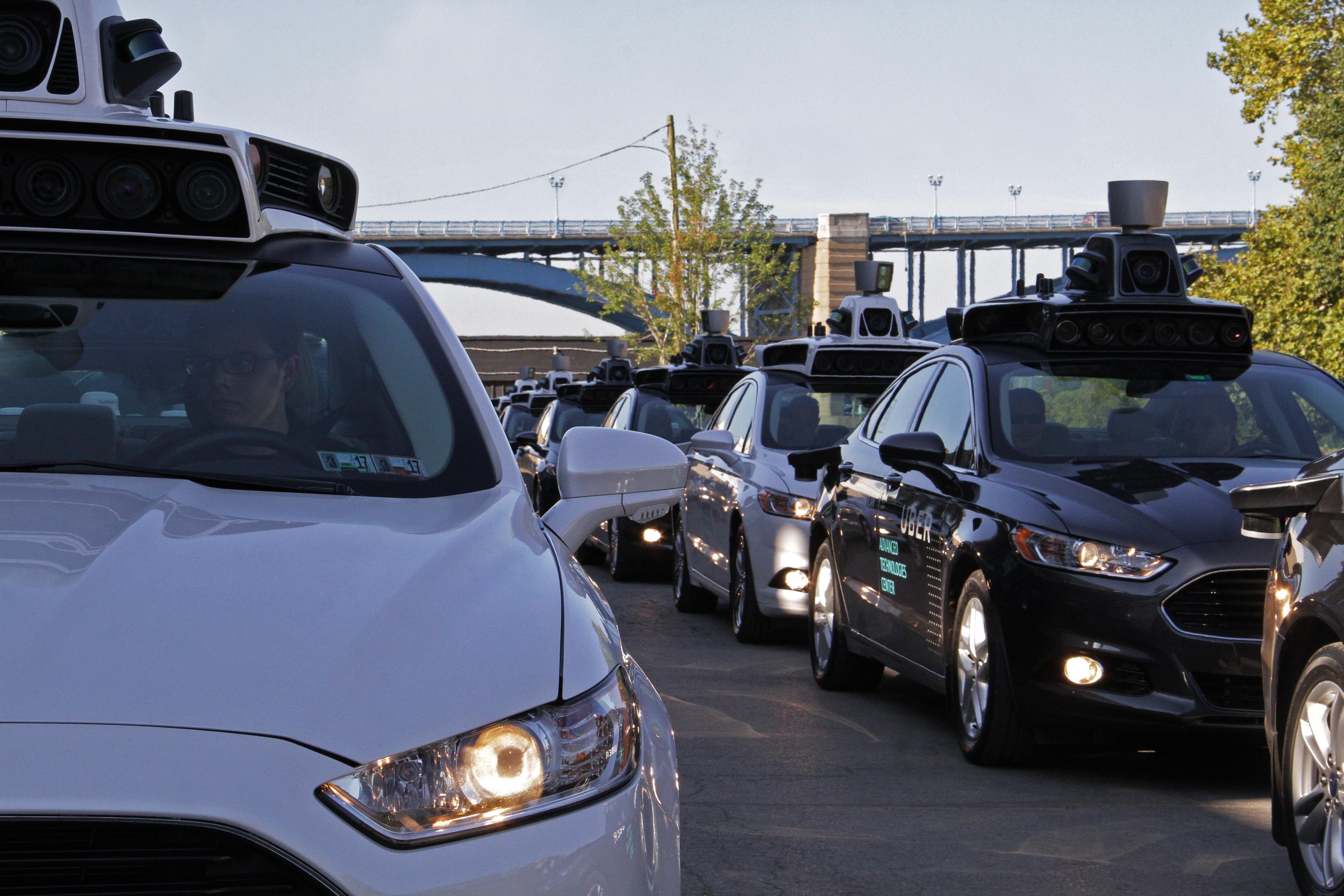 Uber starts self driving car pickups in Pittsburgh