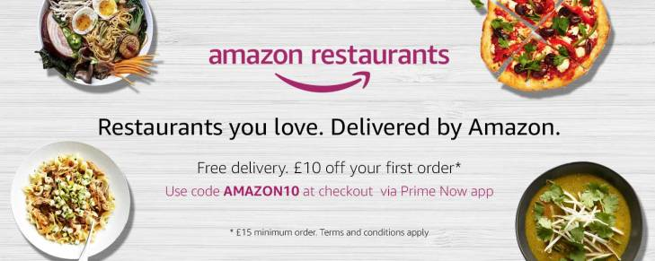 Amazon Closes Its Restaurant Delivery Service In London Techcrunch