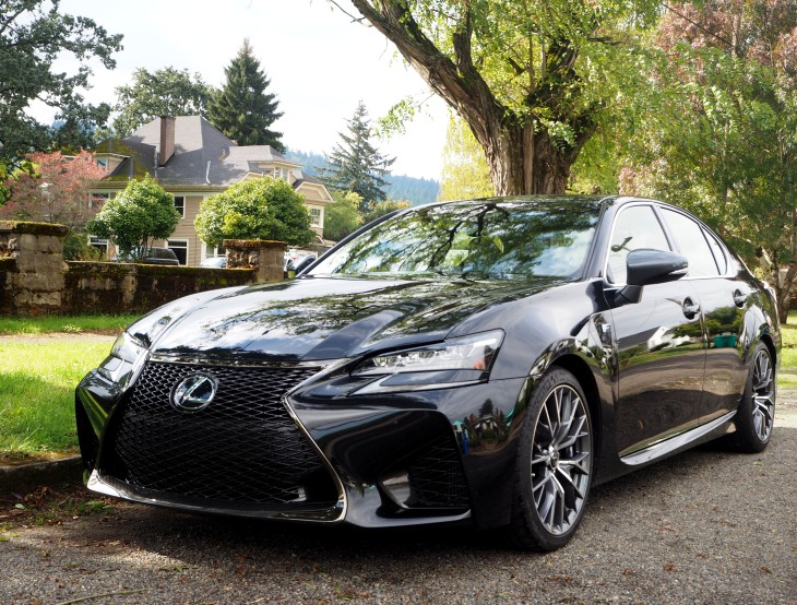 first reviews test and photo review car article gs road lexus drive price horsepower notes f with gallery