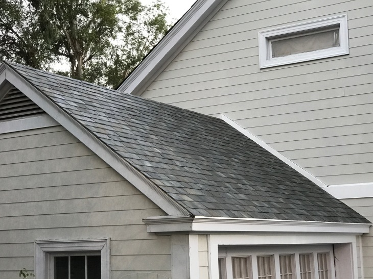 Solar Panel Roof Shingles >> These Are Tesla S Stunning New Solar Roof Tiles For Homes Techcrunch
