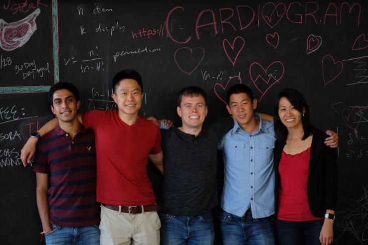 Cardiogram's founding team.